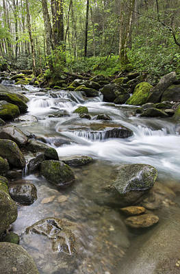 Smokey Mountains Photograph - Never Stops by Jon Glaser