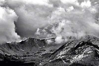 Photograph - Never Summer Mountains Study 2 by Robert Meyers-Lussier