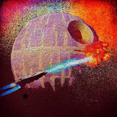Painting - Never Tell Me The Odds by Mark Taylor