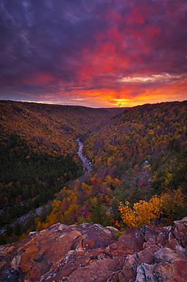 Neverending Autumn Print by Joseph Rossbach