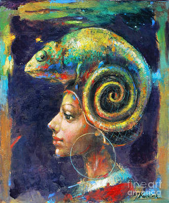 Neverending Story Painting - Neverending Possibilities by Michal Kwarciak