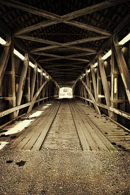 Photograph - Nevins Bridge by Joanne Coyle