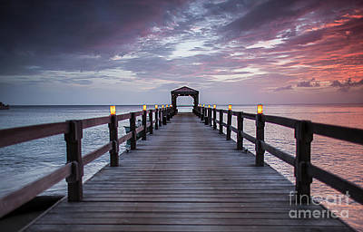 Photograph - Nevis Dock by Wendy Gunderson