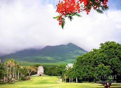 Photograph - Nevis Peak by Wendy Gunderson