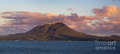 Photograph - Nevis Sunset by Brian Jannsen