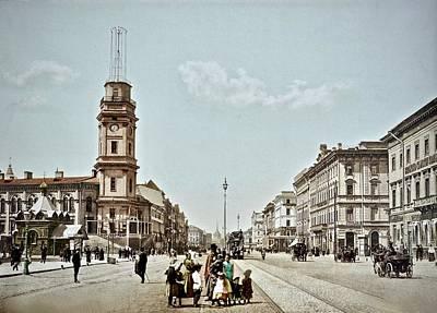 Photograph - Nevsky Prospect  by Ira Shander