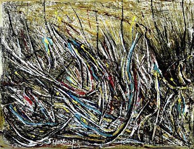 Painting - New Abstraction-3 by Anand Swaroop Manchiraju