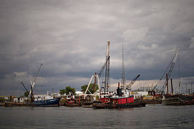Photograph - New Bedford Waterfront Xvi by David Gordon