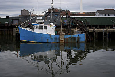 Photograph - New Bedford Waterfront Xviii Color by David Gordon