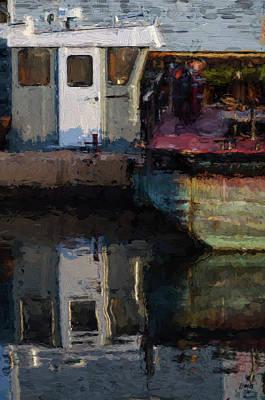 Photograph - New Bedford Waterfront  Xxiv by David Gordon