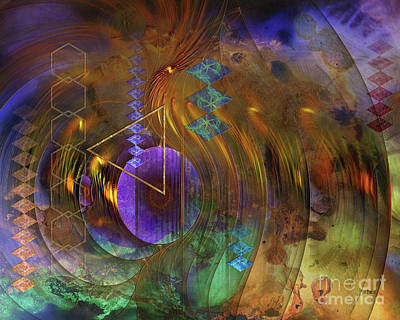 Digital Art - New Beginning by John Beck