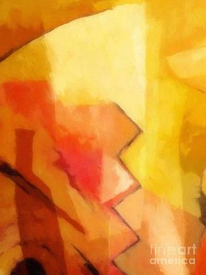 Beginning Painting - New Beginning by Lutz Baar