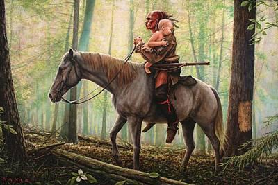 Revolutionary War Painting - New Beginnings by Dan Nance