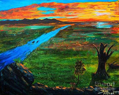 Painting - New Beginnings by Ruanna Sion Shadd a'Dann'l Yoder