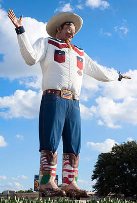 Photograph - New Big Tex Rookie Year 2013 by Rospotte Photography