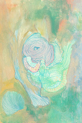 New Born - #ss18dw017 Art Print by Satomi Sugimoto