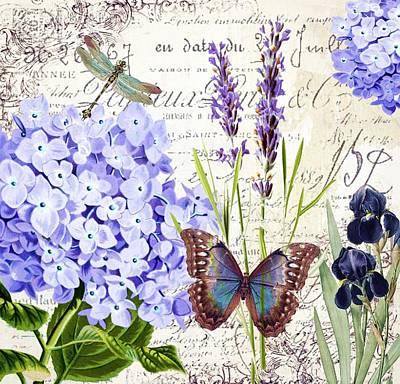 Airport Maps - New botanical by Elizabeth Mix