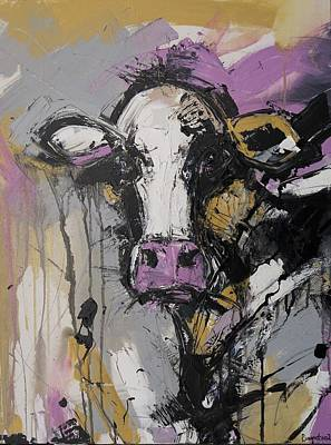 Cow Painting - New Breed Cow 1 by Irina Rumyantseva