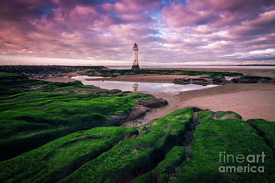 Photograph - New Brighton Lighthouse by Andrew White