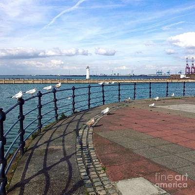 Photograph - New Brighton Promenade View 2 by Joan-Violet Stretch