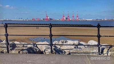 Photograph - New Brighton Rocks by Joan-Violet Stretch