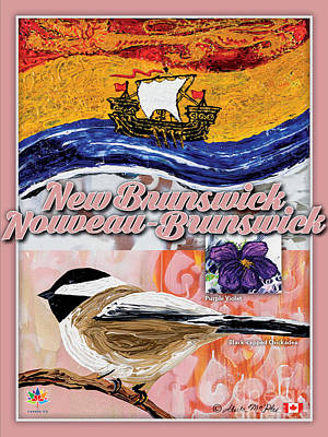 Painting - New Brunswick Poster by Sheila McPhee