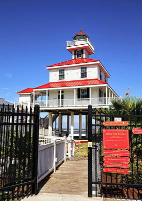 Photograph - New Canal Lighthouse 2 by Judy Vincent