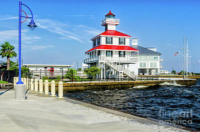 Photograph - New Canal Lighthouse 2 - Nola by Kathleen K Parker