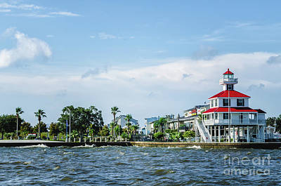 Photograph - New Canal Lighthouse And Lakefront - Nola by Kathleen K Parker
