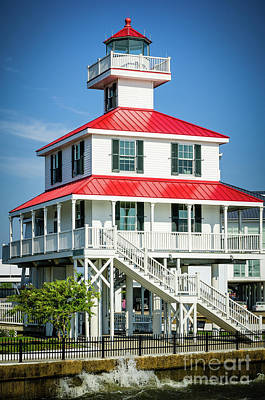 Photograph - New Canal Lighthouse - Nola by Kathleen K Parker