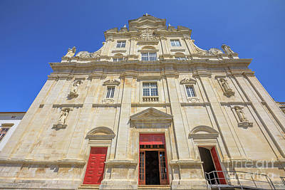 Photograph - New Cathedral Of Coimbra by Benny Marty
