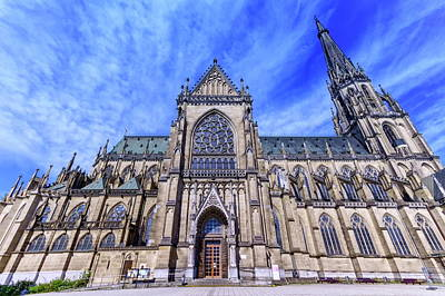 Photograph - New Cathedral Of The Immaculate Conception, Neuer Dom, Linz, Austria by Elenarts - Elena Duvernay photo