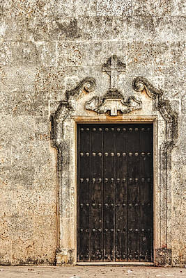 Photograph - Christian Doorway by Dawn Currie