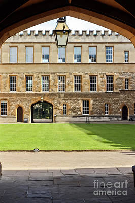 Photograph - New College Oxford by Terri Waters