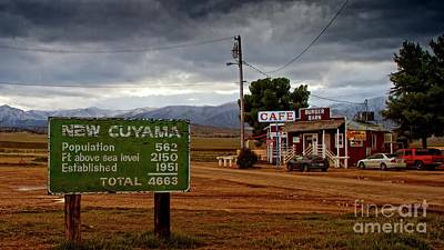 New Cuyama California Original by Gus McCrea