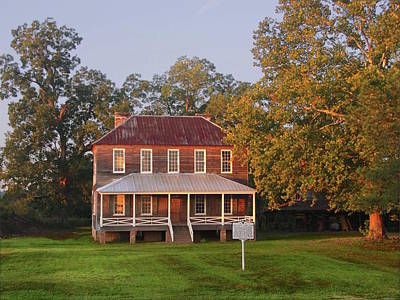 Photograph - New Dawn On Old House by Virginia Bond