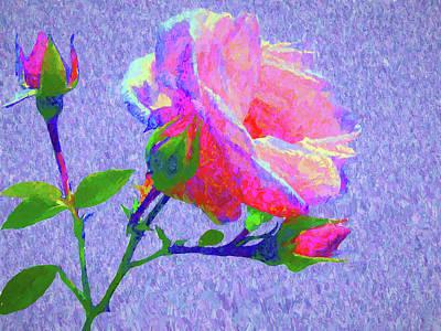 Digital Art - New Dawn Painterly by Susan Lafleur