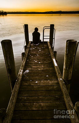 Tranquil Scene Escapism Photograph - New Day A Piers by Jorgo Photography - Wall Art Gallery