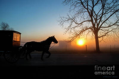 Photograph - New Day In Amishville by David Arment