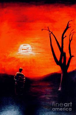 Painting - New Day by Sher Nasser