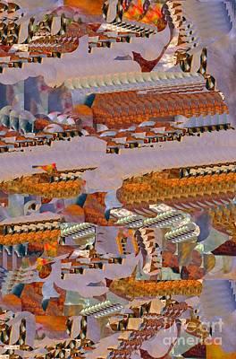 Digital Art - Ancient Port by Nancy Kane Chapman