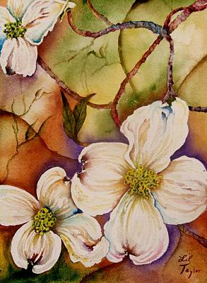 Painting - New Dogwoods by Lil Taylor