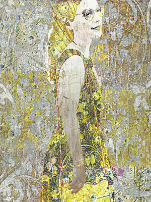 Mixed Media - New Dress by Tony Rubino