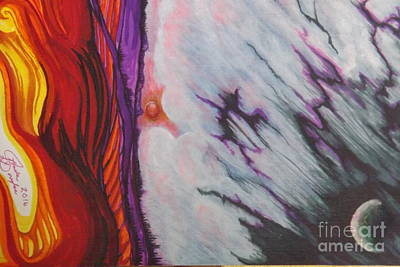 Painting - New Earth by Ronda Douglas