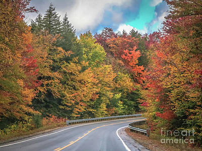 Photograph - New England Autumn Colors by Claudia M Photography