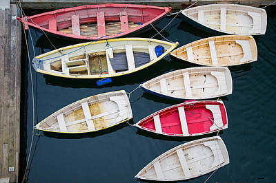 New England Boats 3  Art Print