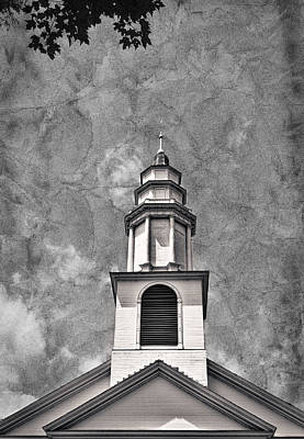 Photograph - New England Church Steeple #2 by Stuart Litoff