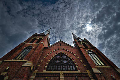 Photograph - New England Church by Stuart Litoff