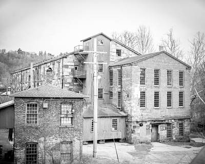 Photograph - New England Factory- Collinsville, Ct by Brian Caldwell