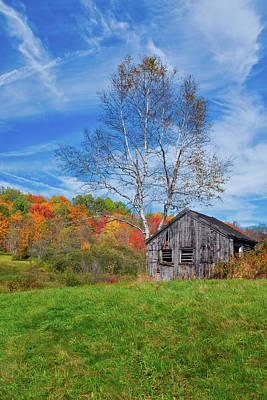 New England Fall Foliage Art Print